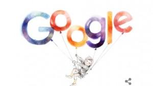 いわさきちひろ Googleロゴ
