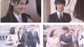 AOKIのスーツのCMの女性と男性のモデル(俳優)は誰?挿入曲も気になる!