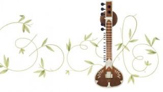 ラヴィ シャンカルがGoogleのロゴに!絵のツルとギターの意味はなんでしょう?