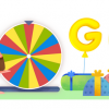 google birthday surprise spinnerって何?Googleロゴのゲーム19種!